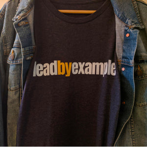 Leadership begins when you lead by example. Nichole's Nuggets t-shirts