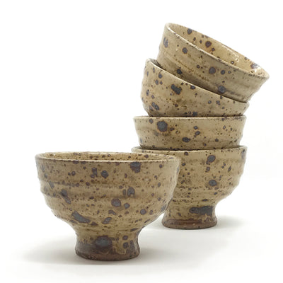 Set of 5 Stoneware Bowls by La Borne, 1960