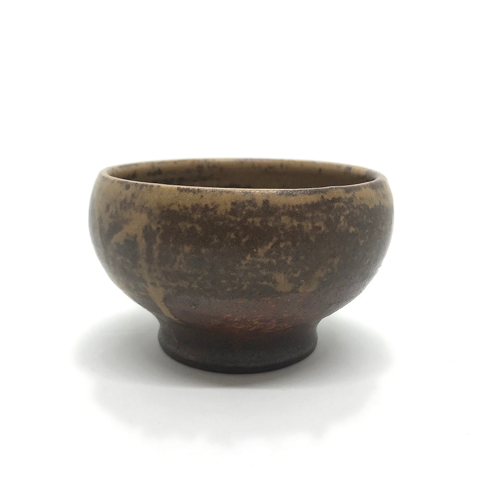 Small Stoneware Bowl by Pierre Bobin, circa 1950