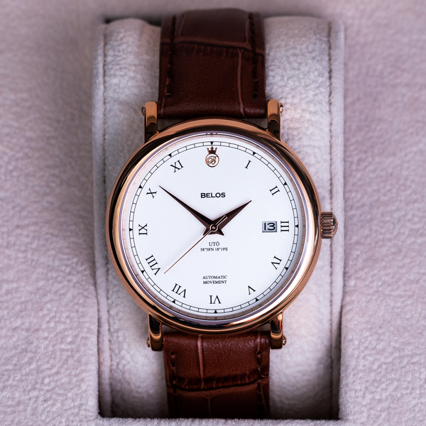 Utö Automatic 40 - White Gold