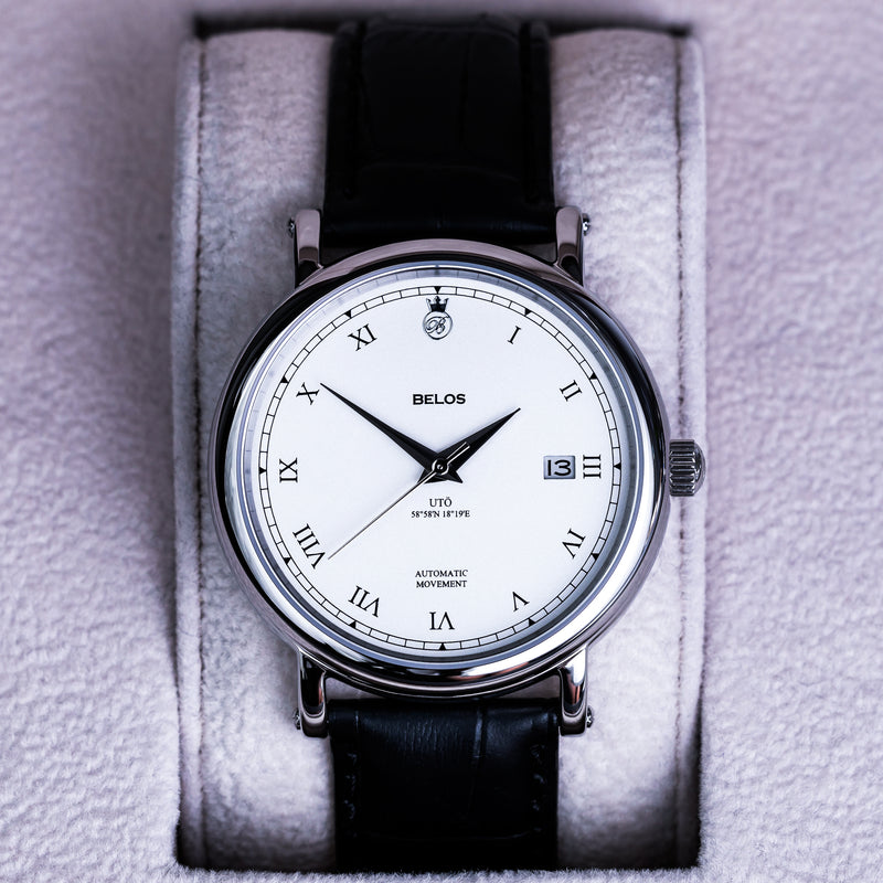 Utö Automatic 40 - White Steel