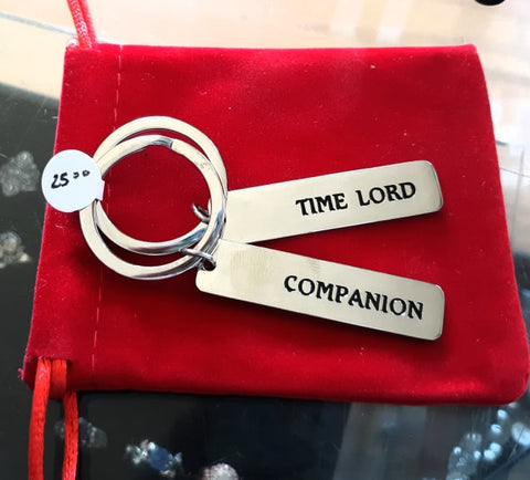 Time Lord/ Companion Key Chains