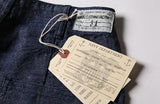 WW2 USN Deck Dungaree Shorts Men's Cargo Summer 1940'S Vintage Selvage Denim - retro mens clothing vintage menswear mens fashion style