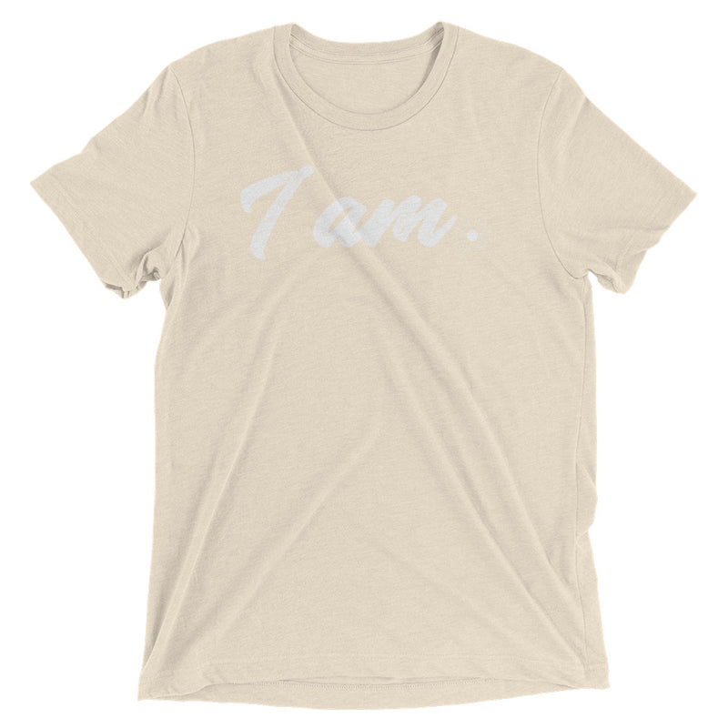 """I Am"" (white logo) men's/unisex short sleeve t-shirt"