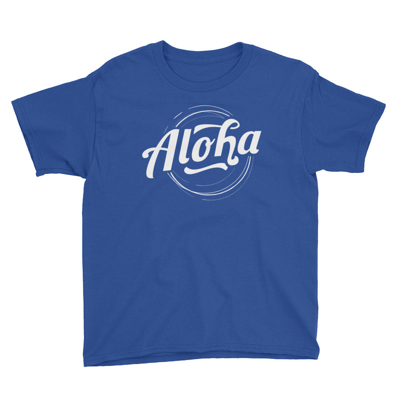 """Aloha"" (white logo) boy's t-shirt"