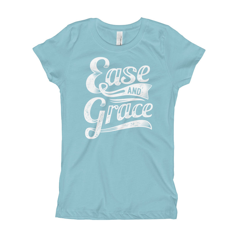 """Ease and Grace"" (white logo) girl's t-shirt"
