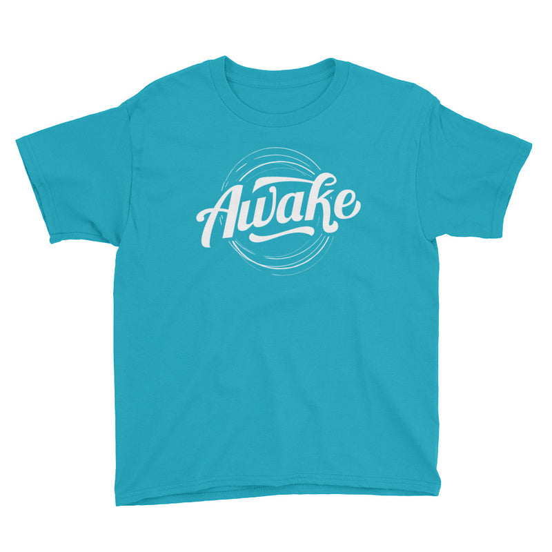"""Awake"" (white logo) boy's t-shirt"