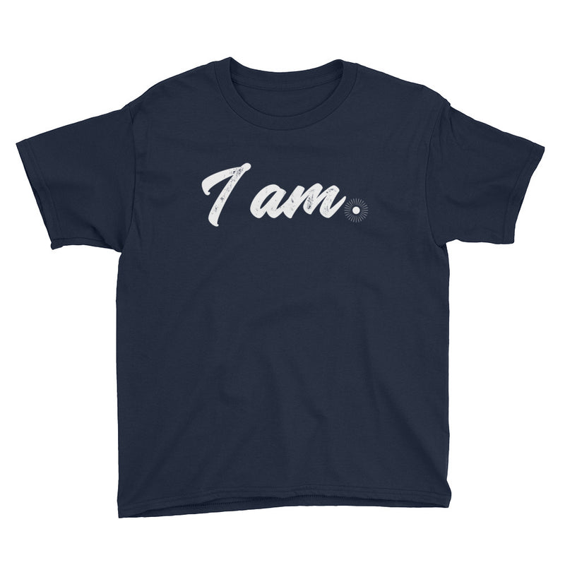 """I Am"" (white logo) boy's t-shirt"