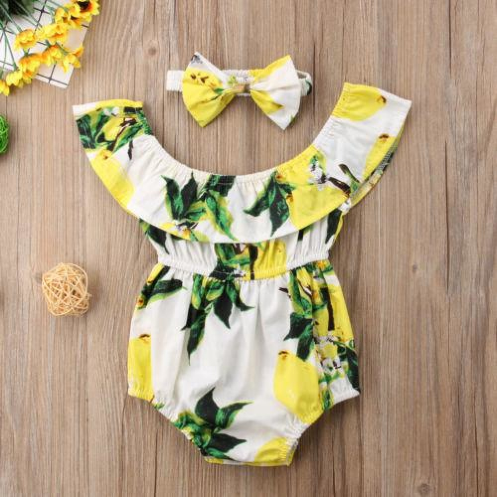 Little Lemon - Baby Bodysuit | Australia - Baby Swagsies