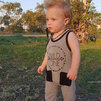 Little Wild One - Baby Romper | Australia - Baby Swagsies