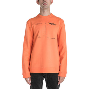 Raf Simons Drugs Round Neck Sweater