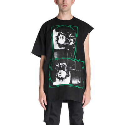 Raf Simons 19S/S T-shirt with Open Side