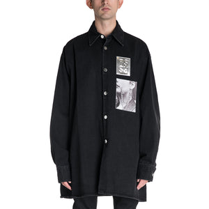 Raf Simons 19S/S Patched Shirt