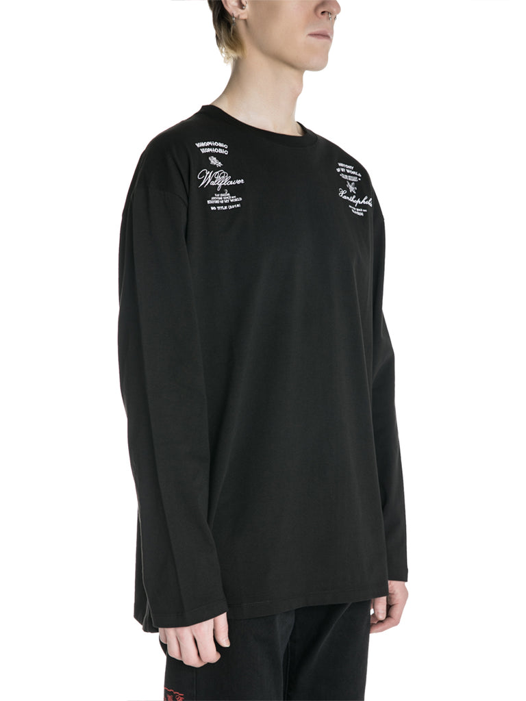 Raf Simons 19F/W Printed Long Sleeve T-shirt