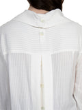 Ann Demeulemeester Sidar Ecru Lace Up Shirt
