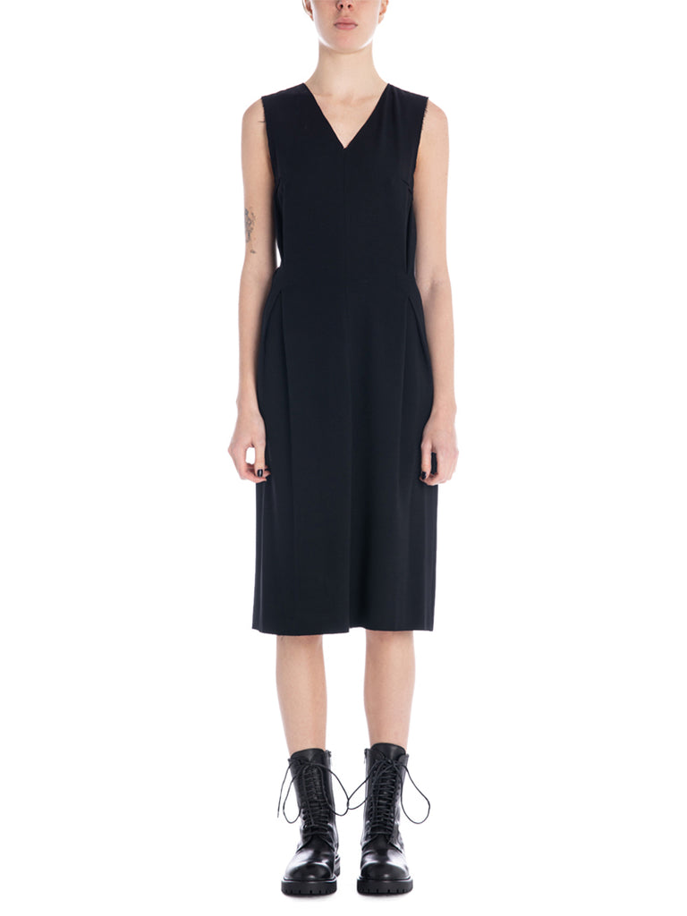 Ann Demeulemeester Jasmin V-Neck Dress