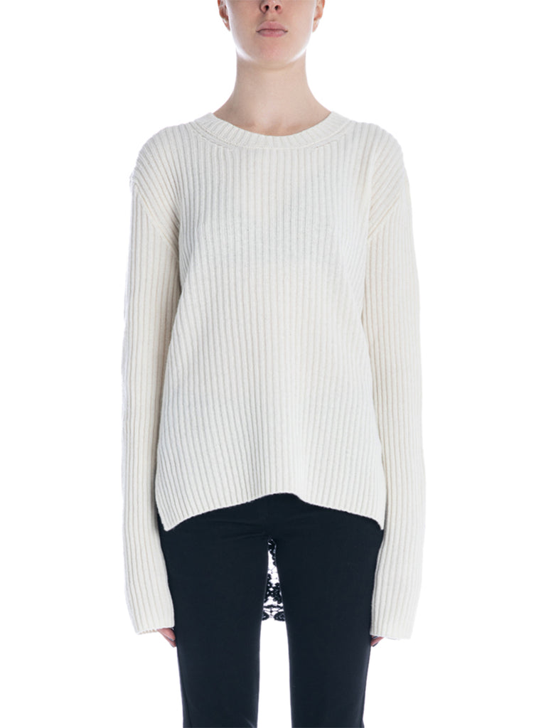 Ann Demeulemeester Lace Back Sweater
