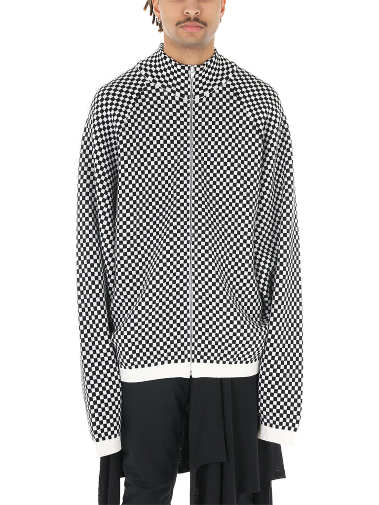 Raf Simons Archive Redux Checked Cardigan