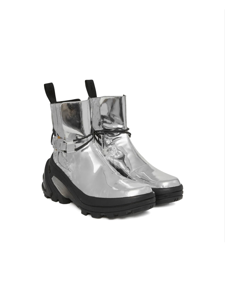 1017 ALYX 9SM 19F/W Silver Low Buckle Boot W Fixed sole