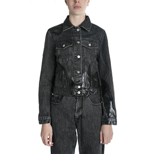 MISBHV Wet Print Denim Jacket