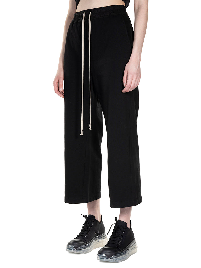 Rick Owens DRKSHDW Cropped Tracksuit Trousers