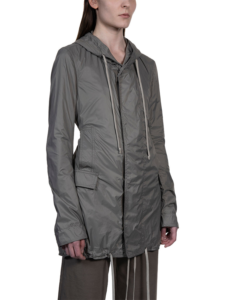 Rick Owens DRKSHDW Fishtail Hooded Parka