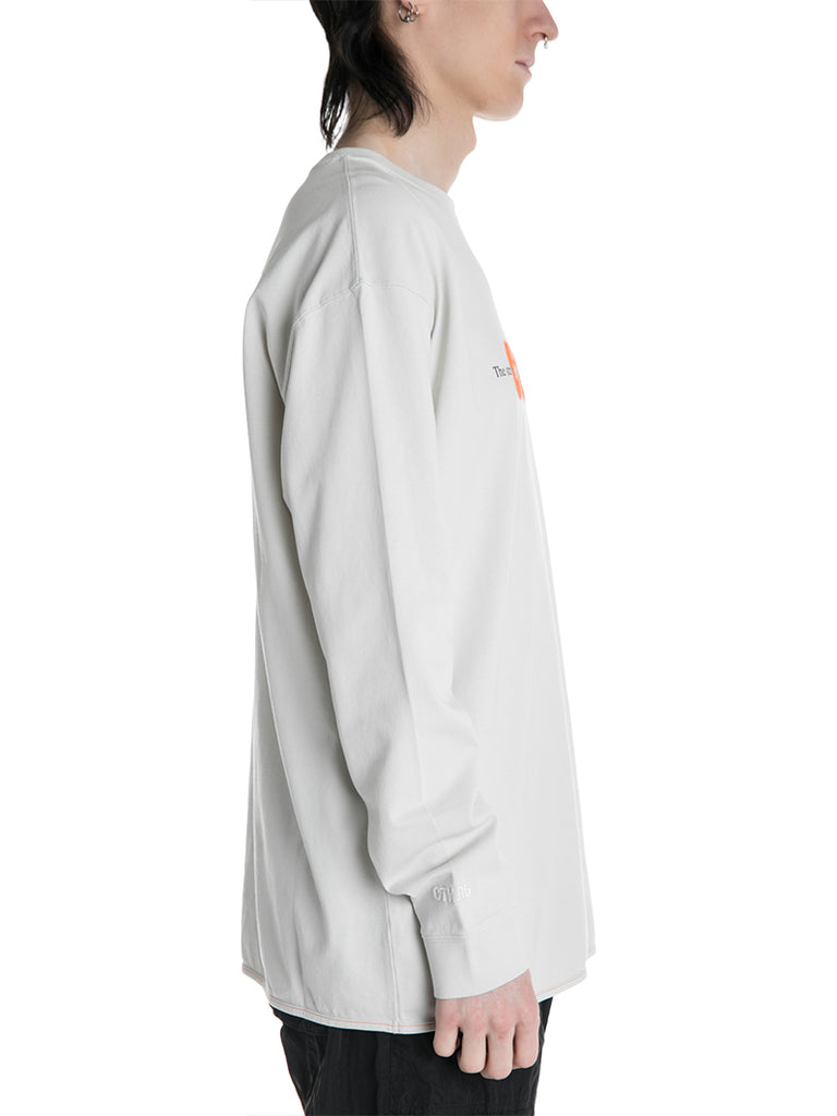 "Heron Preston стиль ""Style"" Spray Paint Long Sleeve Tee"