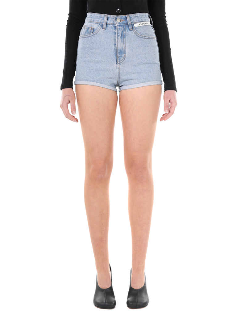 KIMHEKIM Label High Waist Denim Shorts