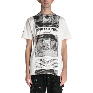 OFF-WHITE C/O VIRGIL ABLOH Newpaper Slim T-shirt