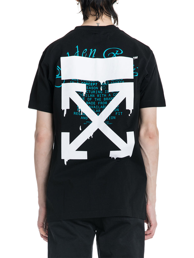 OFF-WHITE c/o Virgil Abloh Dripping Arrows Tee