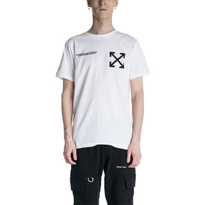 OFF-WHITE C/O VIRGIL ABLOH 19S/S Flamed Bart Slim T-shirt