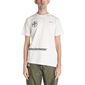 OFF-WHITE C/O VIRGIL ABLOH Stencil Spliced T-shirt