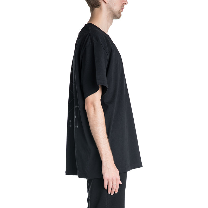 OFF-WHITE C/O VIRGIL ABLOH 19F/W Backbone Oversized T-shirt