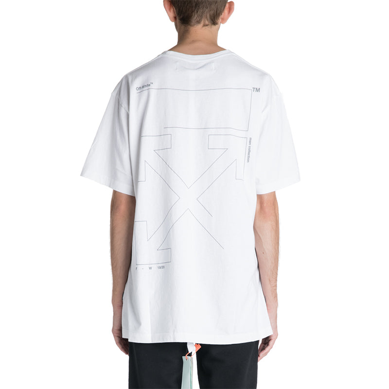 OFF-WHITE C/O VIRGIL ABLOH 19F/W Unfinished Oversized T-shirt