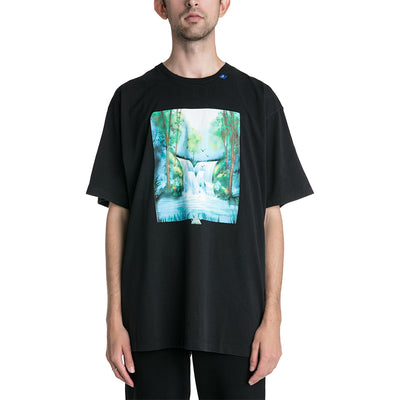 OFF-WHITE C/O VIRGIL ABLOH 19F/W Waterfall Oversized T-shirt