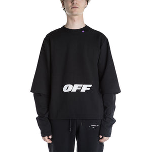 Off White Wing Off Double Sleeve Tee