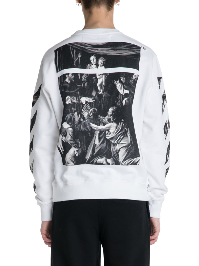 OFF-WHITE c/o Virgil Abloh Caravaggio Slim Fit Sweater