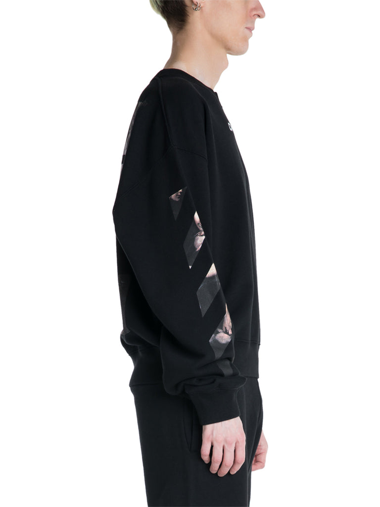 OFF-WHITE c/o Virgil Abloh Caravaggio Oversized Sweater