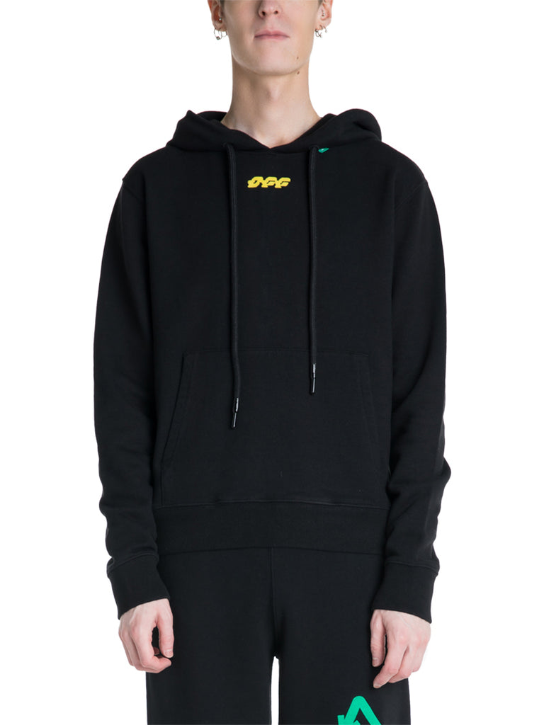 OFF-WHITE c/o Virgil Abloh Disrupted Logo Hoodie