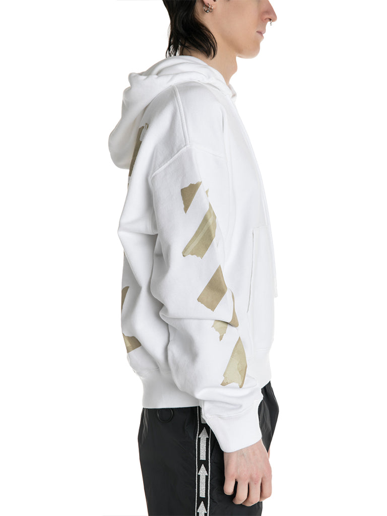 OFF-WHITE c/o Virgil Abloh Tape Arrows All Over Hoodie