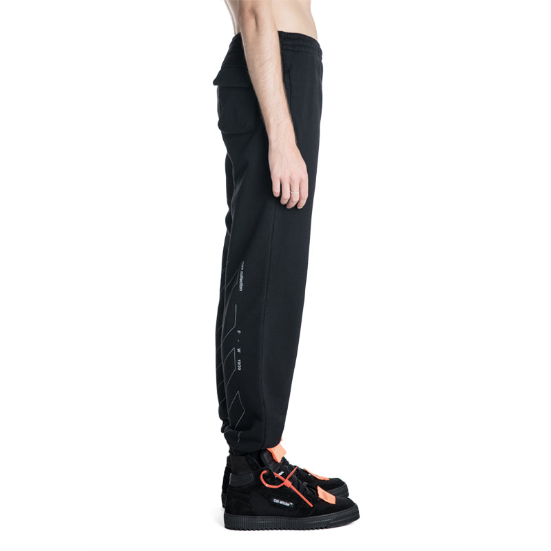 OFF-WHITE C/O VIRGIL ABLOH 19F/W Unfinished Sweatpants