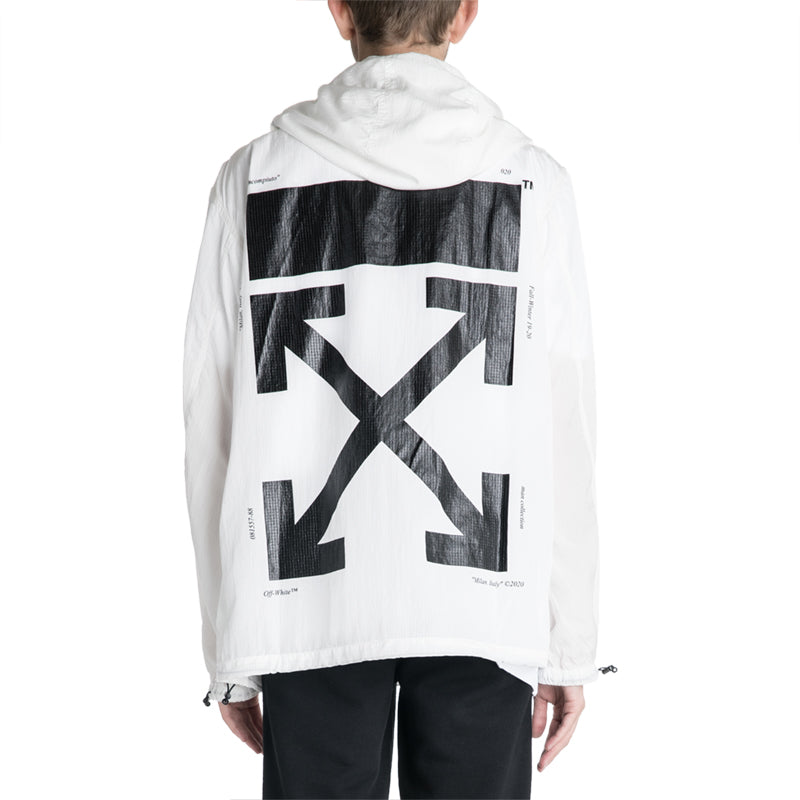 OFF-WHITE C/O VIRGIL ABLOH 19F/W Packaway Rain Pullover