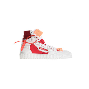Off White Off Court Tumbled Sneakers