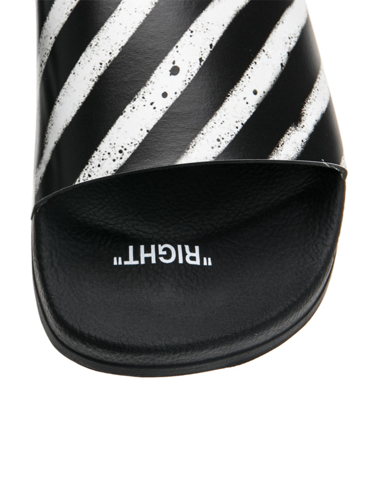 OFF-WHITE c/o Virgil Abloh Spray Stripes Slider Flip Flop