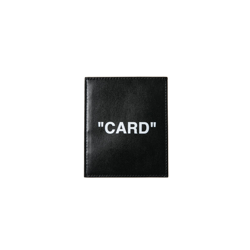 OFF-WHITE C/O VIRGIL ABLOH 19F/W Quote Card Holder