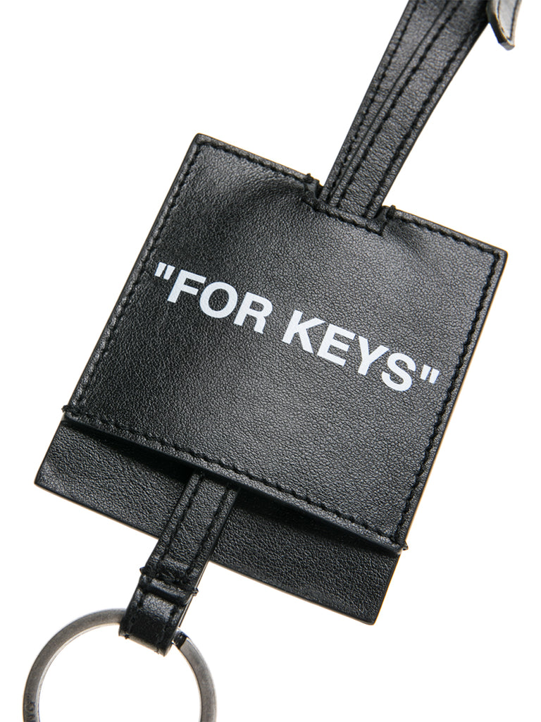 Off-White c/o Virgil Abloh Logo Key Holder Necklace