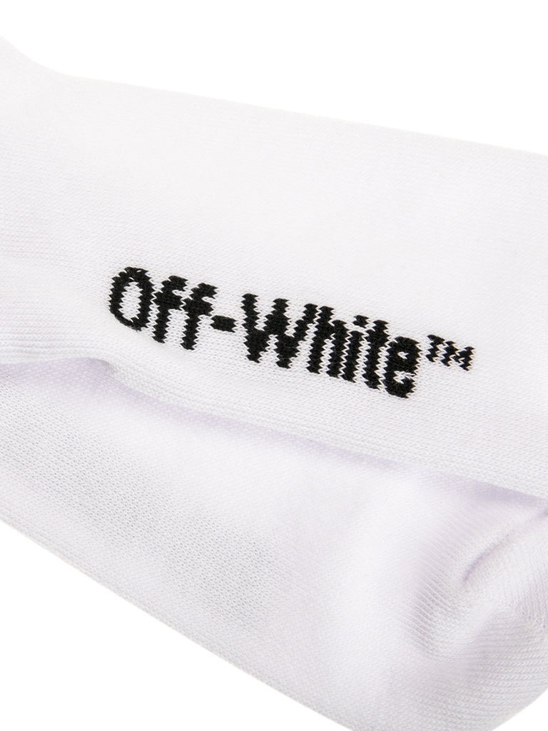 Off-White c/o Virgil Abloh Mid Length Logo Socks