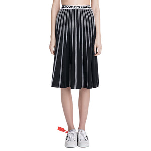 Off White Knit Skirt