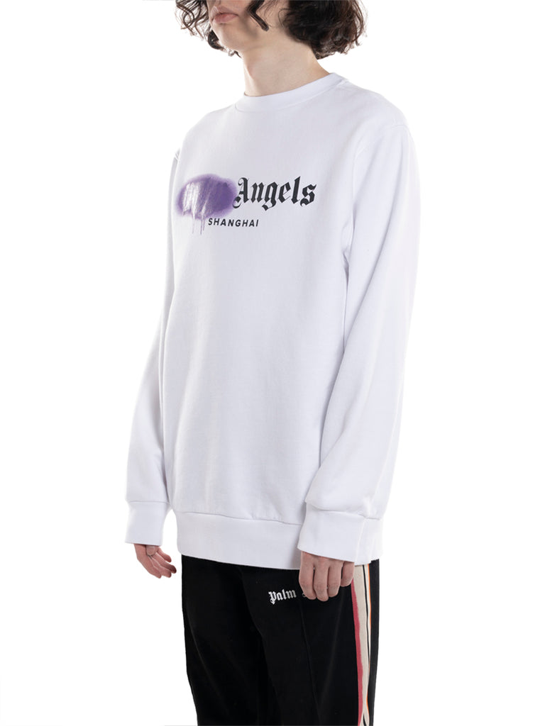 Palm Angels Shanghai Sprayed Sweatshirt