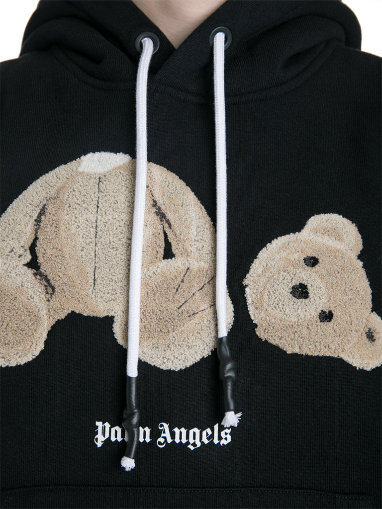 Palm Angels 19F/W The Bear Cropped Hoodie
